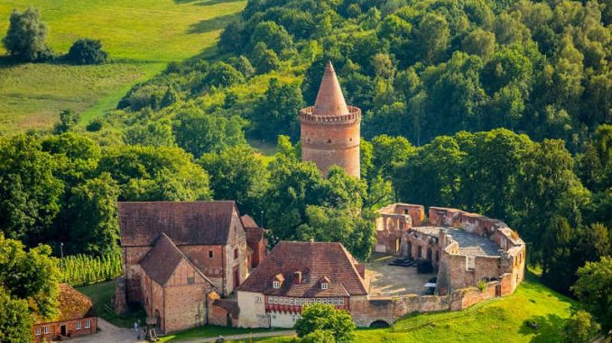 Burg-Stargard_Luftbild