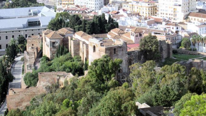 Malaga_Alcazar_Blick-von-oben_1305