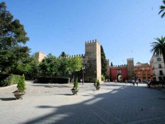 Alcazar de Sevilla - Haupteingang mit Löwentor