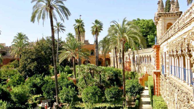 Alcázar of Sevilla (Spanien) - flickr / S Kaya