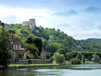 Chateau Gaillard, Normandie - über dem Fluss © Sylvain Bachelot