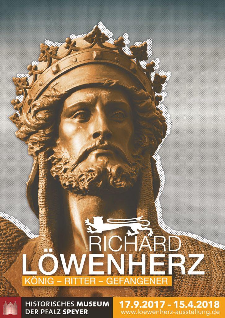 """Ausstellungsposter """"Löwenherz"""" - Historisches Museum der Pfalz Speyer"""