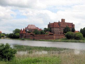 Marienburg, Polen - Aussenansicht