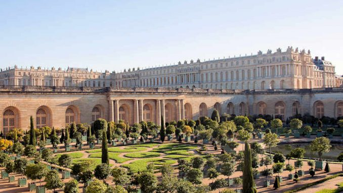 Château de Versailles (Frankreich), seit dem Sonnenkönig Louis XIV. die Hauptresidenz der Könige von Frankreich