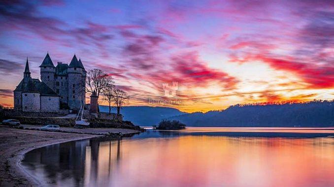 Chateau-de-Val_Abendstimmung