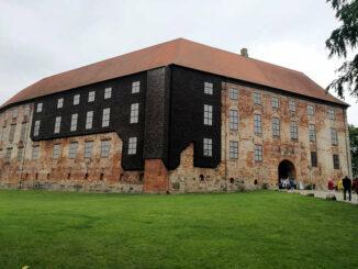 Schloss Koldinghus, Dänemark - Haupteingang