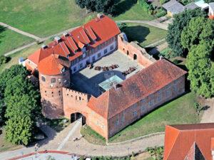 Burg Neustadt-Glewe - Luftbild / ©-Ralf Ottmann