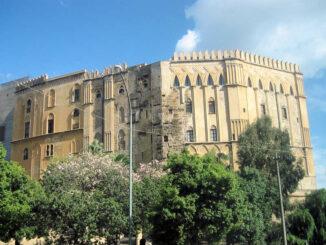 Palazzo dei Normanni, Palermo - Aussenansicht