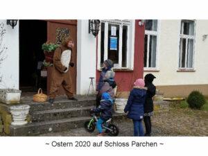 """Schloss Parchen - Eventbild """"Osterevent 2020"""""""