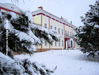 Schloss Parchen (Sachsen-Anhalt) - Garten im Winter - © Förderverein Schloss Parchen