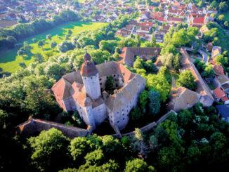 Schloss Virnsberg, Bayern - Luftbild © Schloss Virnsberg