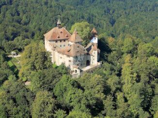 Schloss Kyburg, Schweiz - Luftaufnahme - © Schloss Kyburg