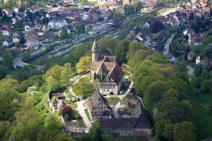 Kloster Lorch von oben©ssg-achim-mende
