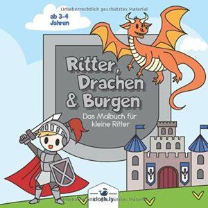 Ritter_Drachen_Burgen-Malbuch