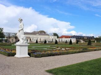 Hannover Herrenhausen, Blick auf das Schloss