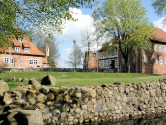 Blick auf die Anlage © Burg Bodenteich