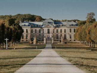 Blick auf das Schloss © Château de Vaux