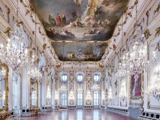 Wunderschöner Ballsaal © Erbischöfliches Schloss Kroměříž