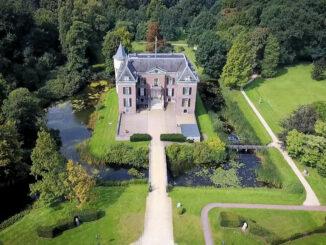Luftbild des Schlosses © Huis Doorn
