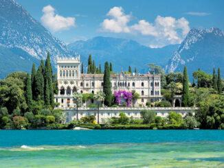 Das Schloss in seiner ganzen Pracht © Eric Sanders/Isola del Garda