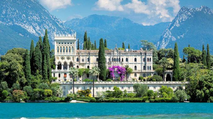 Isola-del-Garda_Frontalansicht