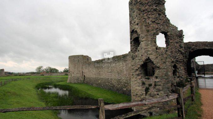 Pevensey-Castle_Reste-Schildwall