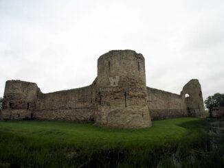 Pevensey Castle - Bollwerk