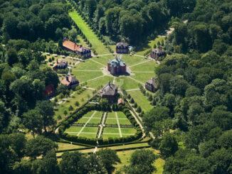 Luftbild © Schloss Clemenswerth / Emslandmuseum