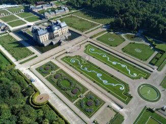 Luftaufnahme © Bruno Lepolard / Château de Vaux-le-Vicomte