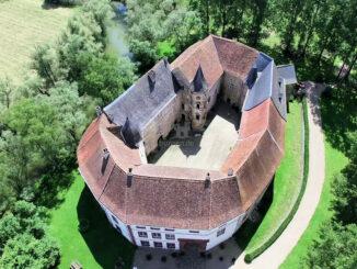 Luftbild detailliert © Chateau Saint-Sixte