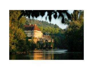 Toller Blick über den Fluss © Château de Losse