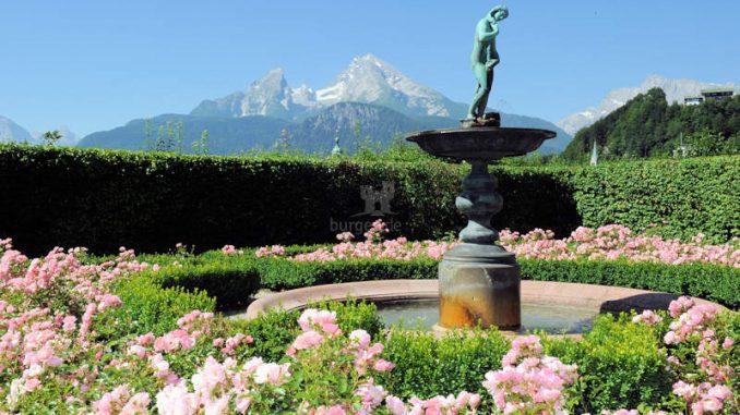 Schloss-Berchtesgaden_Oberer-Rosengarten_c-Schloss-Berchtesgaden