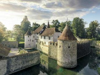 Aussenaufnahme © Schloss Hallwyl/bksma-sh
