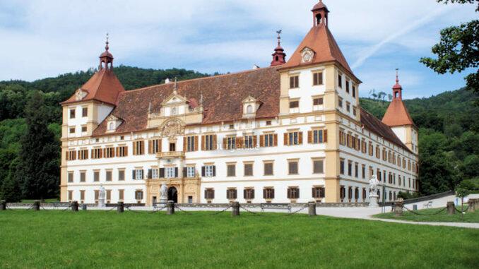 Schloss-Eggenberg_Vorderseite_UniversalmuseumJoanneum-Jare