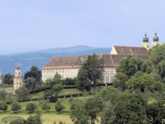 Schloss Stainz - Seitenansicht © Universalmuseum Joanneum/N. Lackner