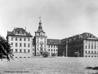Historische Aufnahme © Förderverein Schloss Zerbst