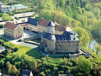 Luftbild © Schloß Voigtsberg