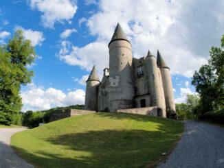 Blick aus dem Park © Château de Vêves