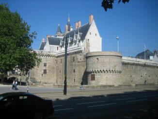 Festungsmauer - Chateau des Ducs de Bretagne - Nantes