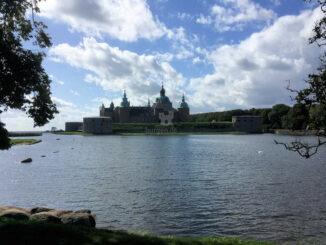 Panoramablick über die Bucht, Kalmar Slot