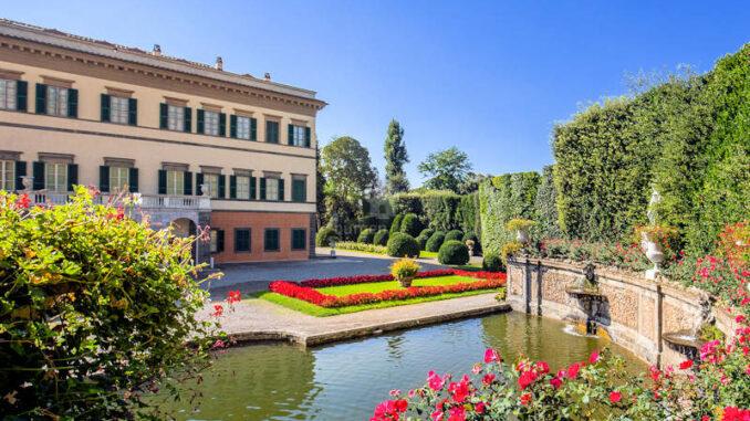 Villa-Reale-di-Marlia_Park-und-Brunnen