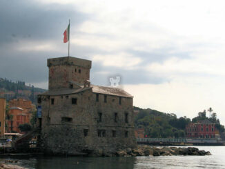 Castello di Rapallo an der ligurischen Mittelmeerküste