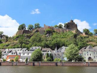 Saarburg, Blick von der Saar