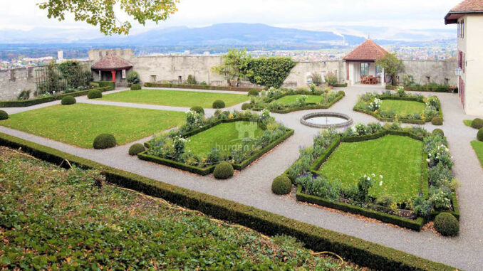 Schloss-Lenzburg_Barockgarten