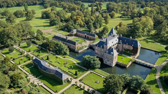 Schloss-Twickel_Luftbild