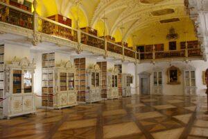 Bibliothekssaal des Kloster und Schloss Salem©ssg