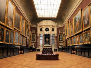 Schloss Chantilly - Blick in eine Gemäldegalerie © ZDF und Christophe Astruc