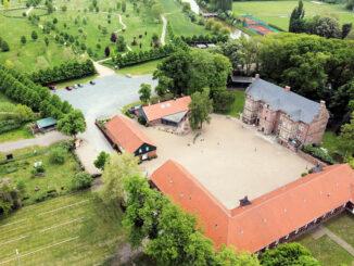 Luftbild © Schloss Erbhof Thedinghausen