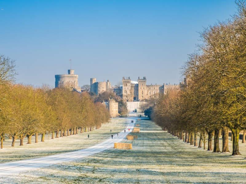 Windsor Castle, England - winterliche Parklandschaft © The Royal Borough Image Bank