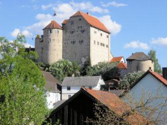 Seitenansicht © Kuratorium Burg Wolfsegg